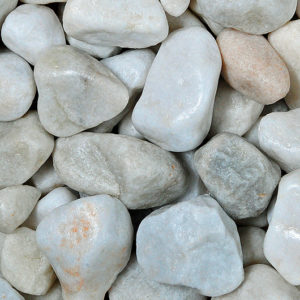 white-marble-pebbles